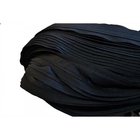 Endlosreißverschluss 3 mm schwarz