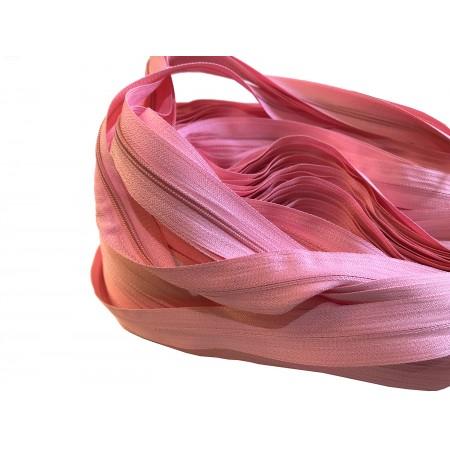 Endlosreißverschluss 3 mm rosa