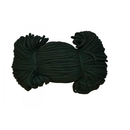 Baumwoll Kordel 5 mm dunkelgrün