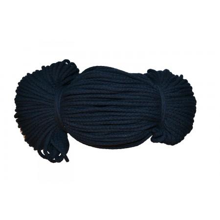 Baumwoll Kordel 5 mm dunkelblau