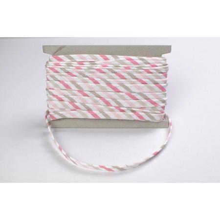 Pastelband Streifen rosa