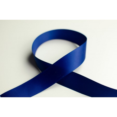 Ripsband 25mm blau