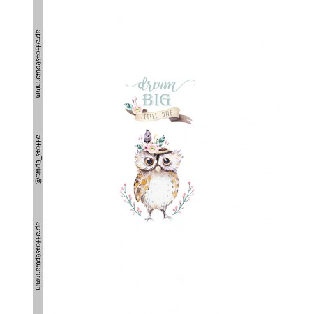 Jersey Panel Dream BIG little one S