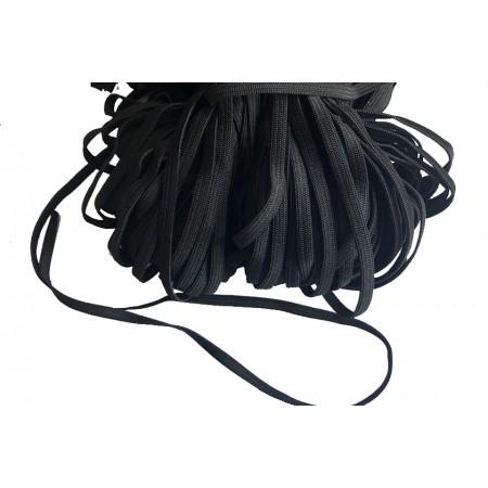Gummiband schwarz 5mm