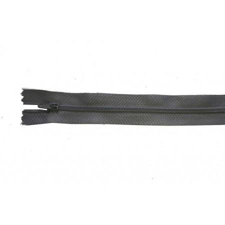 Reißverschluss teilbar grau 50 cm Stk.