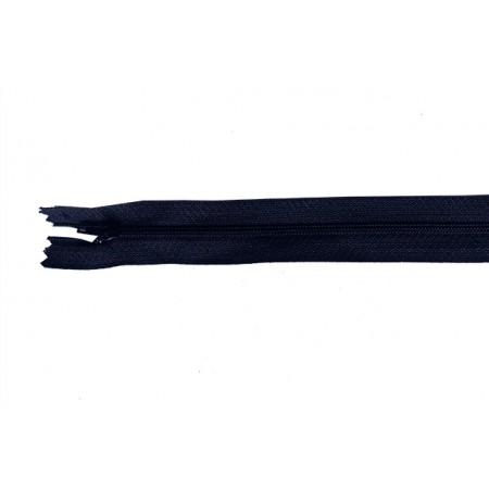 Reißverschluss teilbar dunkelblau 50 cm Stk.