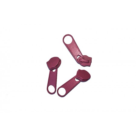 Reißverschluss Schieber rosa 5 mm