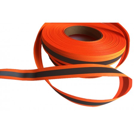 Reflexband neonorange 20 mm